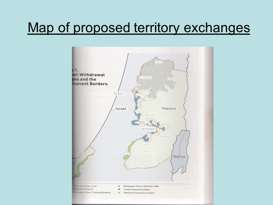 Map of proposed territory exchanges