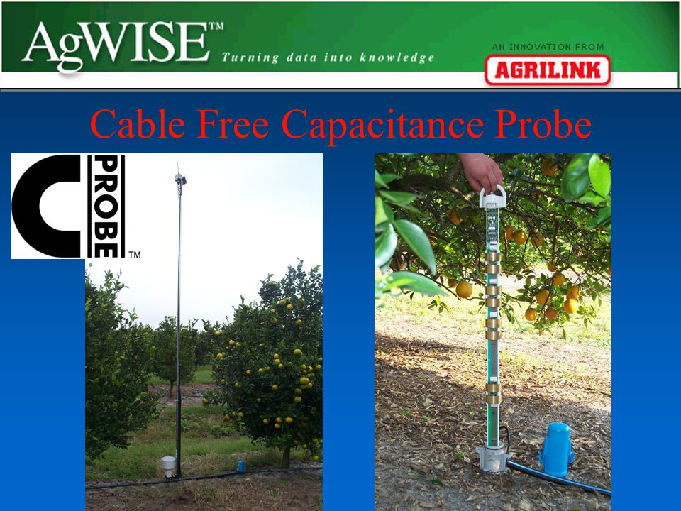 Cable Free Capacitance Probe