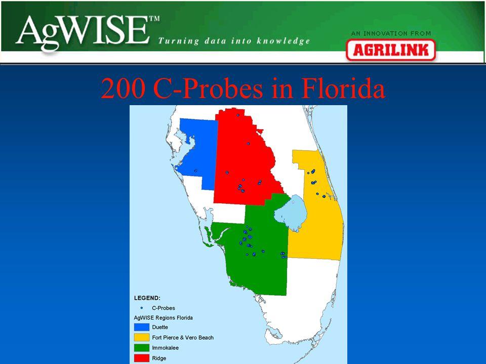200 C-Probes in Florida