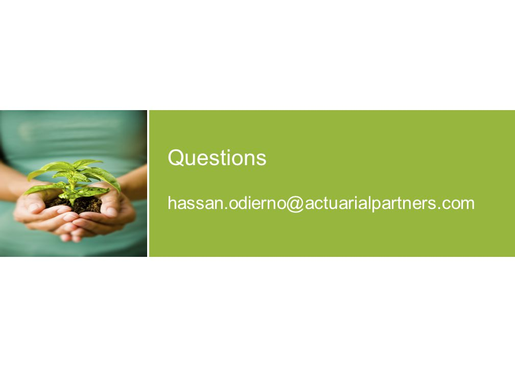 Questions hassan.odierno@actuarialpartners.com