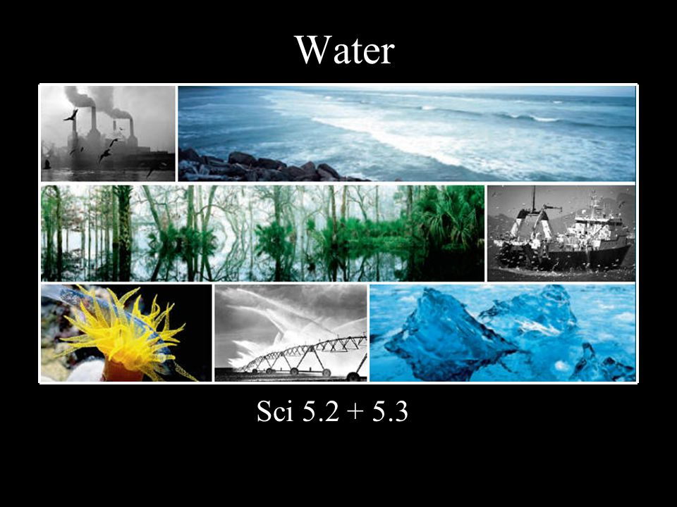 Water Sci 5.2 + 5.3