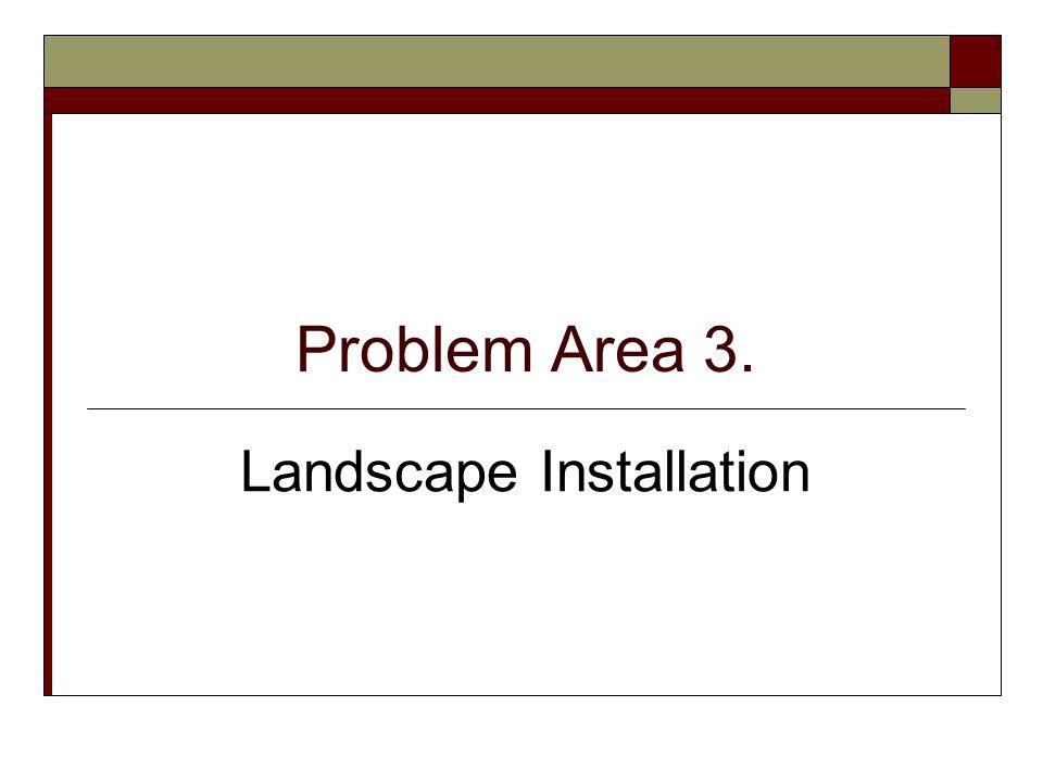 Lesson 1. Preparing the Landscape Site