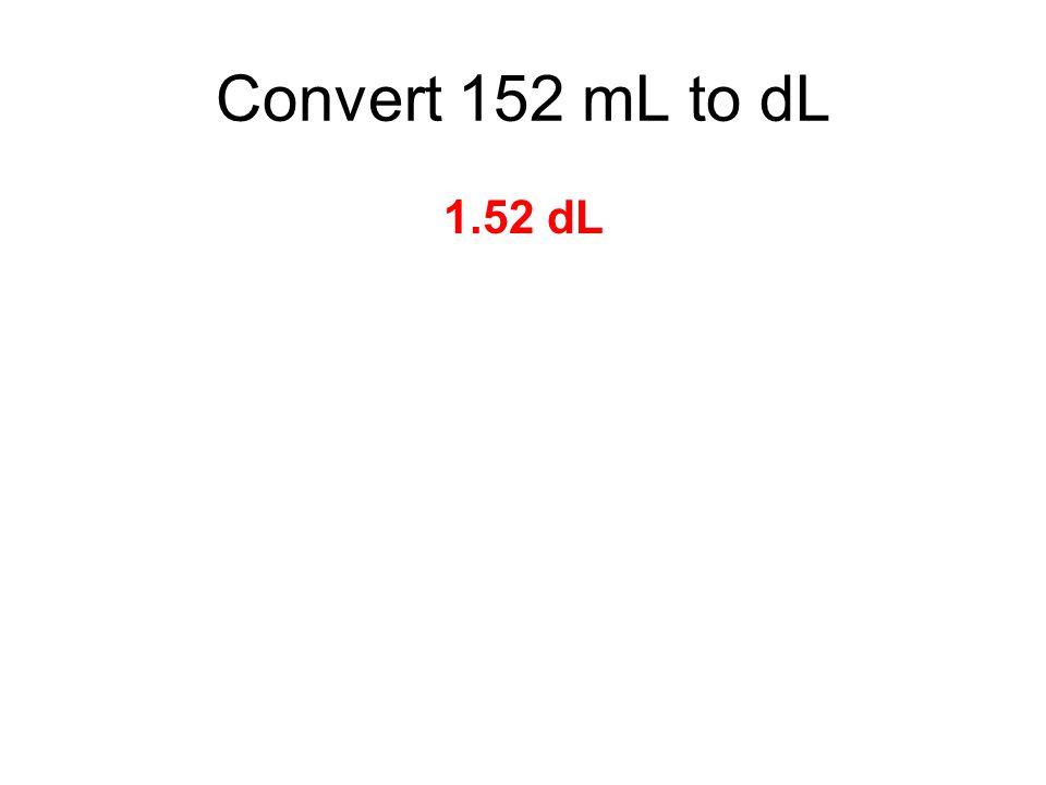 1.52 dL