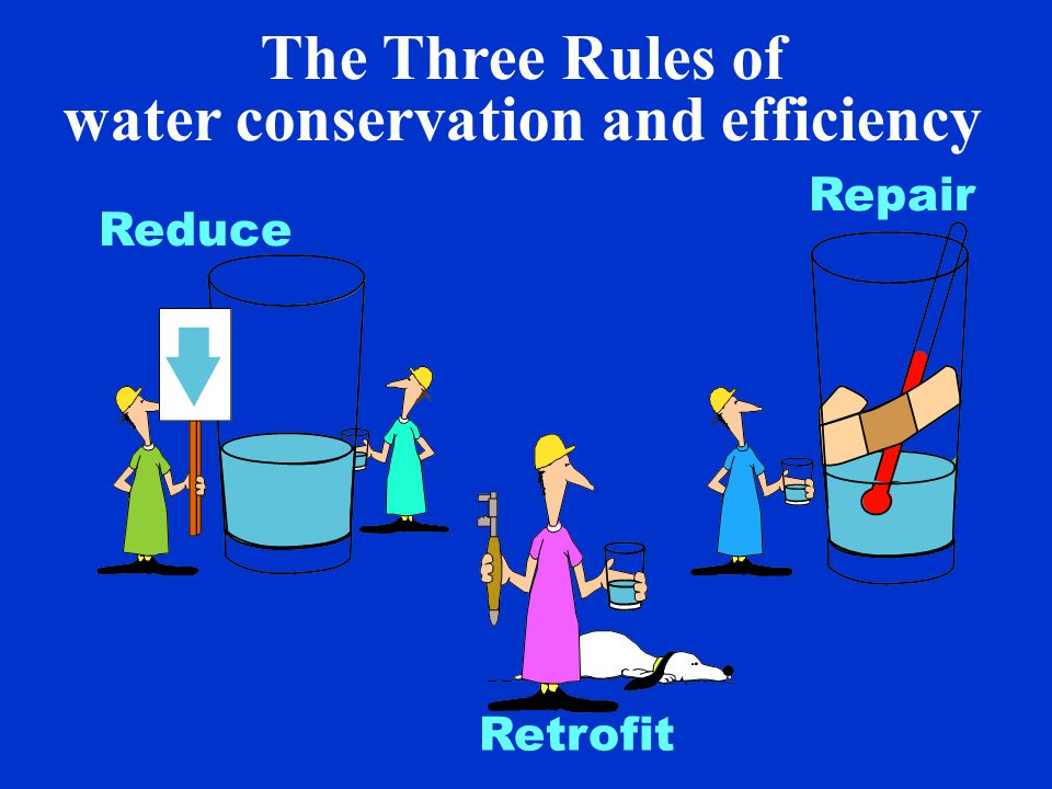 We can save water everywhere … 30% toilet flushing 35% showers and baths 10% kitchen and drinking 20% laundry 5% cleaning