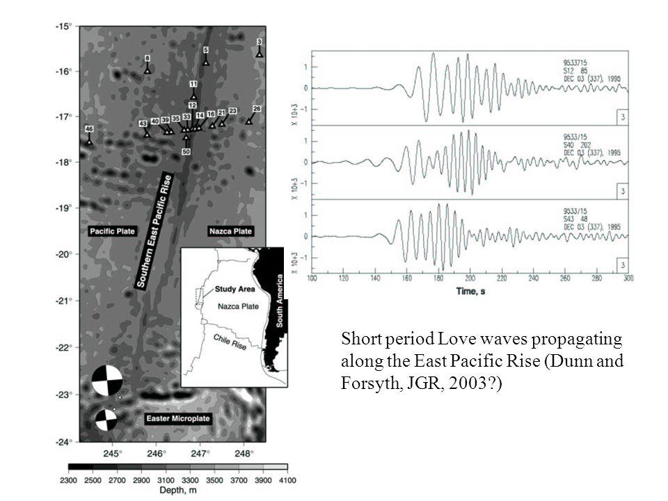 Hammond and Humphreys, JGR, 2000 Faul et al., JGR, 2004