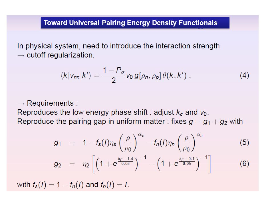 Toward Universal Pairing Energy Density Functionals