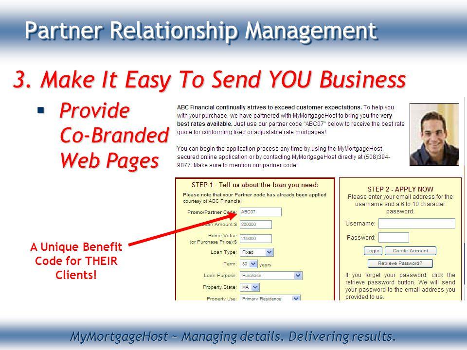 MyMortgageHost ~ Managing details. Delivering results.