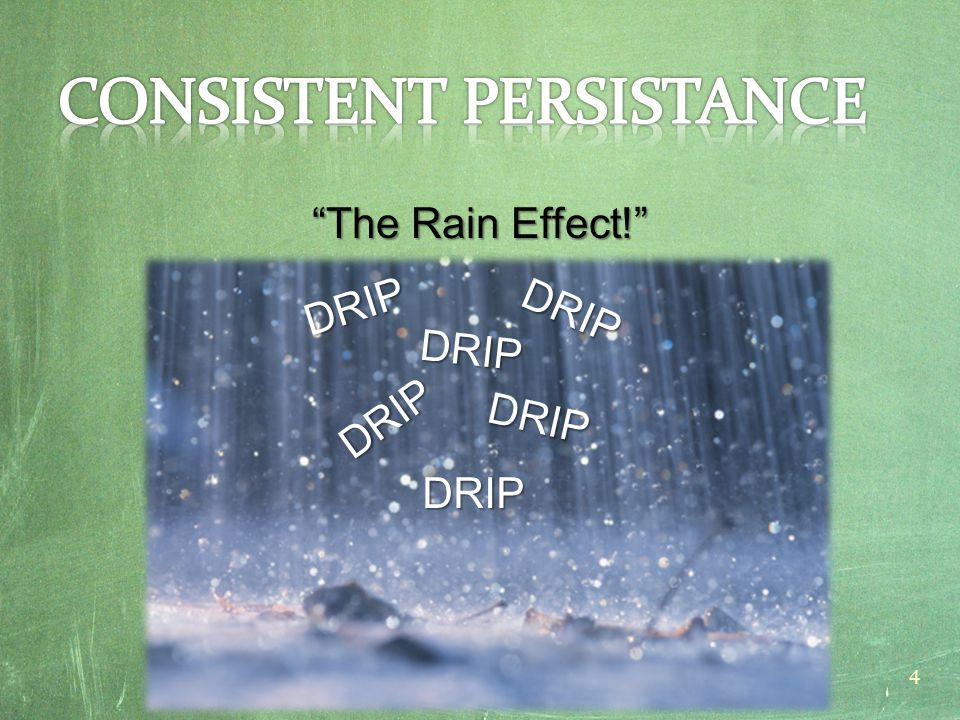 """The Rain Effect!"" DRIP DRIP DRIP DRIP DRIP DRIP 4"