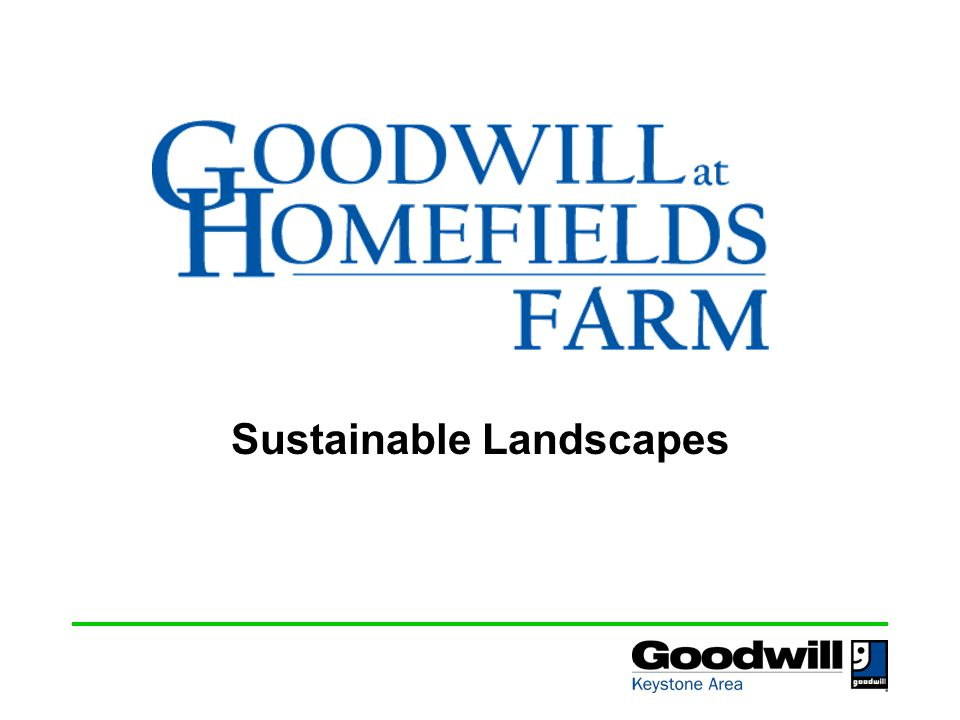 Who we are Goodwill at Homefields Farm is a Community Supported Agriculture program operated by Goodwill Keystone Area Homefields, a non-profit all volunteer organization, is the owner of the 8.7 acre farm in Millersville