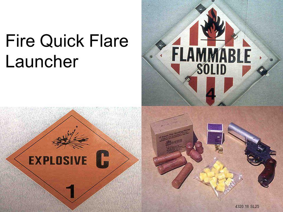 Fire Quick Flare Launcher 4320.18 SL25