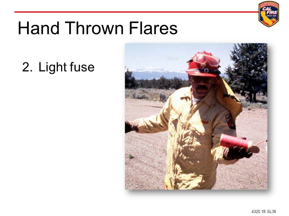 Hand Thrown Flares 2.Light fuse 4320.18 SL38