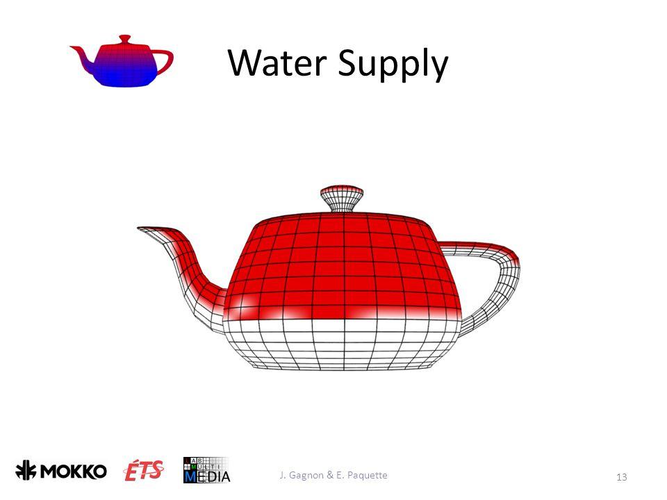 Water Supply J. Gagnon & E. Paquette 13