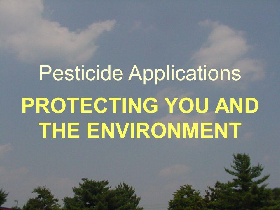 I.I. Pesticide Mixing and Loading Sites II. II. PPE - Personal Protective Equipment III.