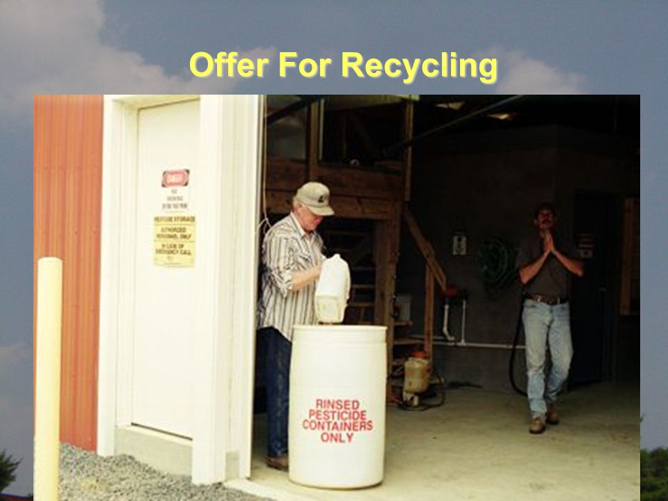 Offer For Recycling Offer For Recycling
