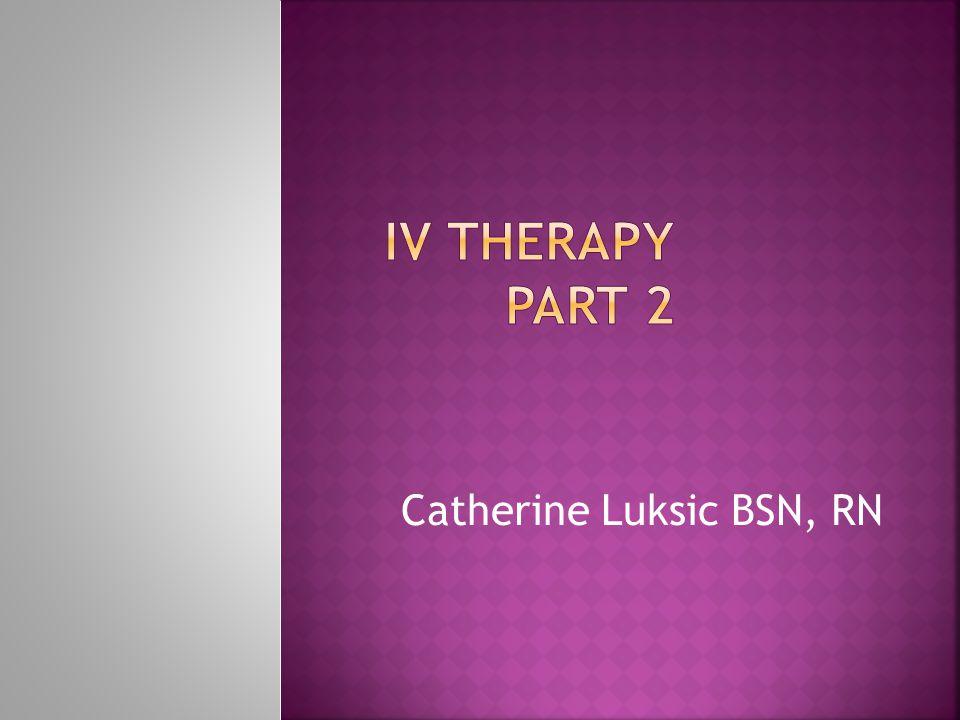 Catherine Luksic BSN, RN