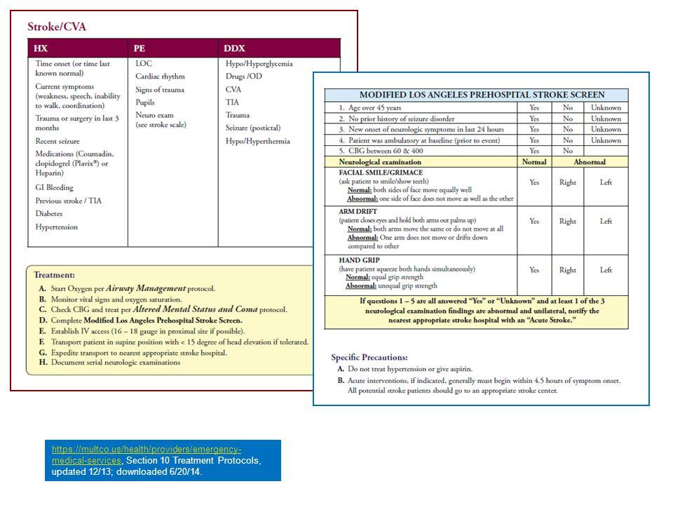 https://multco.us/health/providers/emergency- medical-serviceshttps://multco.us/health/providers/emergency- medical-services, Section 10 Treatment Pro