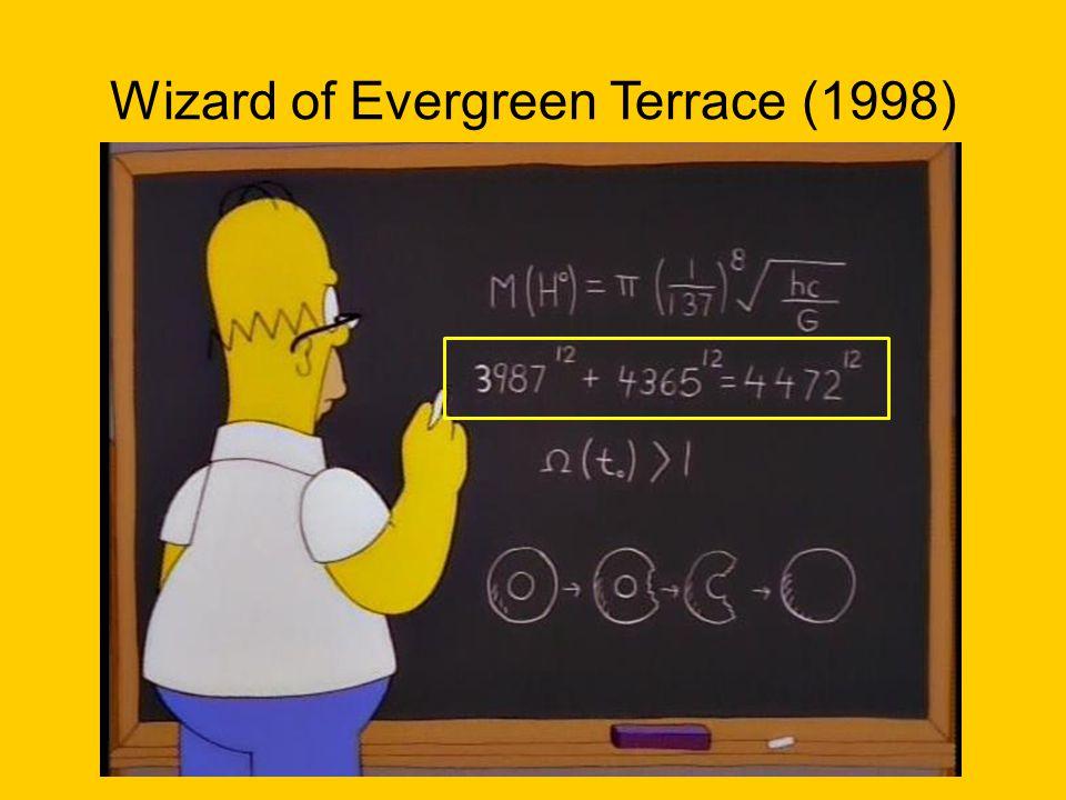 Pythagoras' equation has an infinite solutions x 2 + y 2 = z 2 Fermat's equations have no solutions x 3 + y 3 = z 3 x 4 + y 4 = z 4 x 5 + y 5 = z 5 : x n + y n = z n n, any number bigger than 2