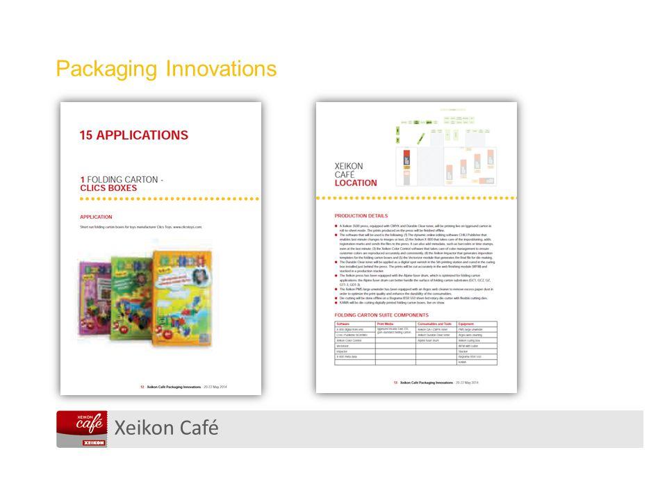 Xeikon Café Packaging Innovations