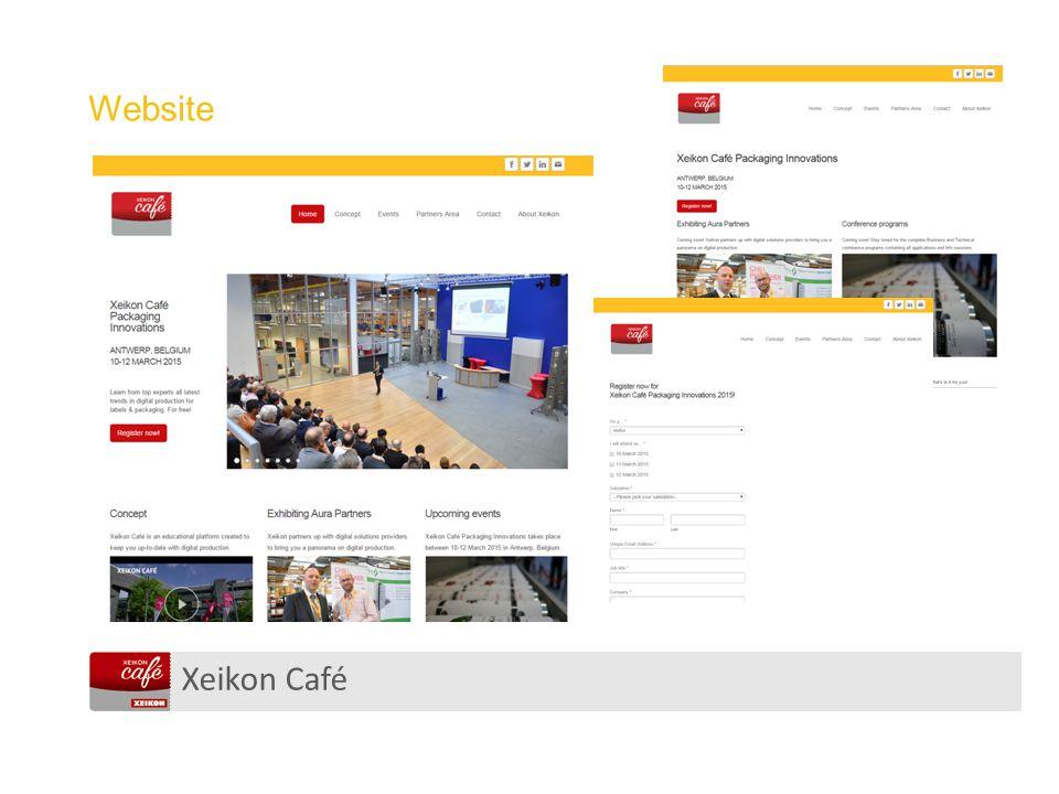 Xeikon Café Website