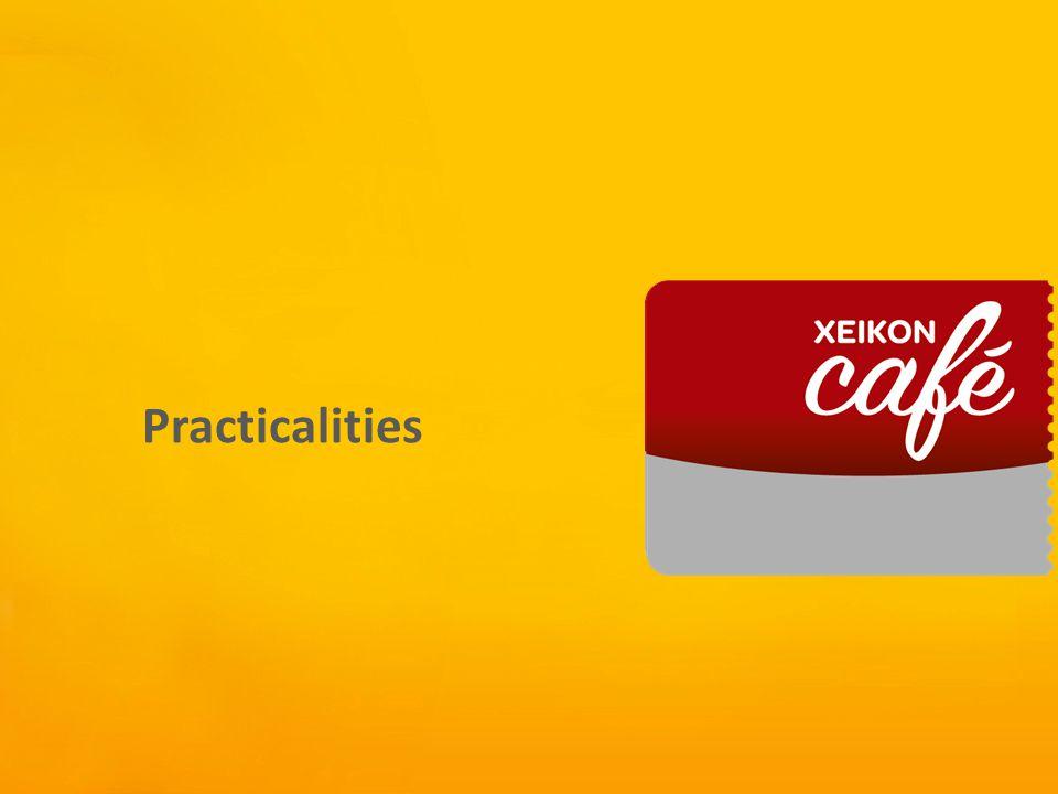 Xeikon Café Practicalities