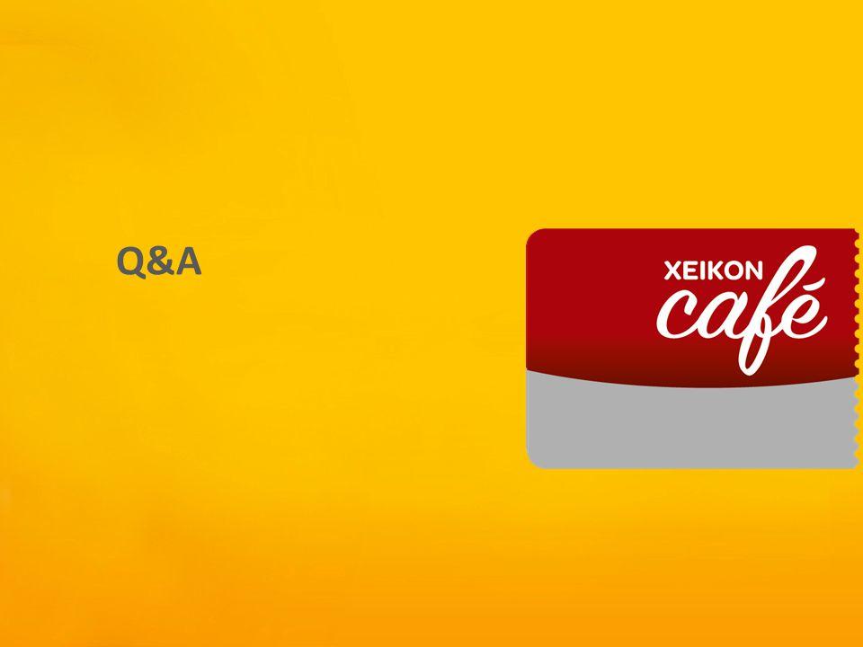 Xeikon Café Q&A