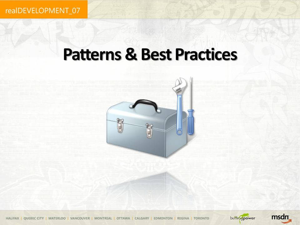 Patterns & Best Practices