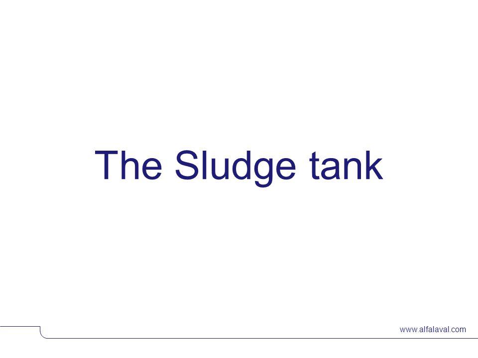 www.alfalaval.com The Sludge tank © Alfa LavalSlide 18