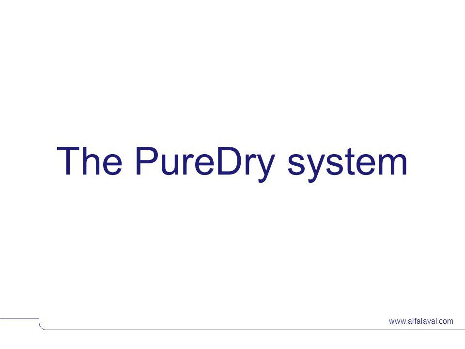 www.alfalaval.com The PureDry system © Alfa LavalSlide 20