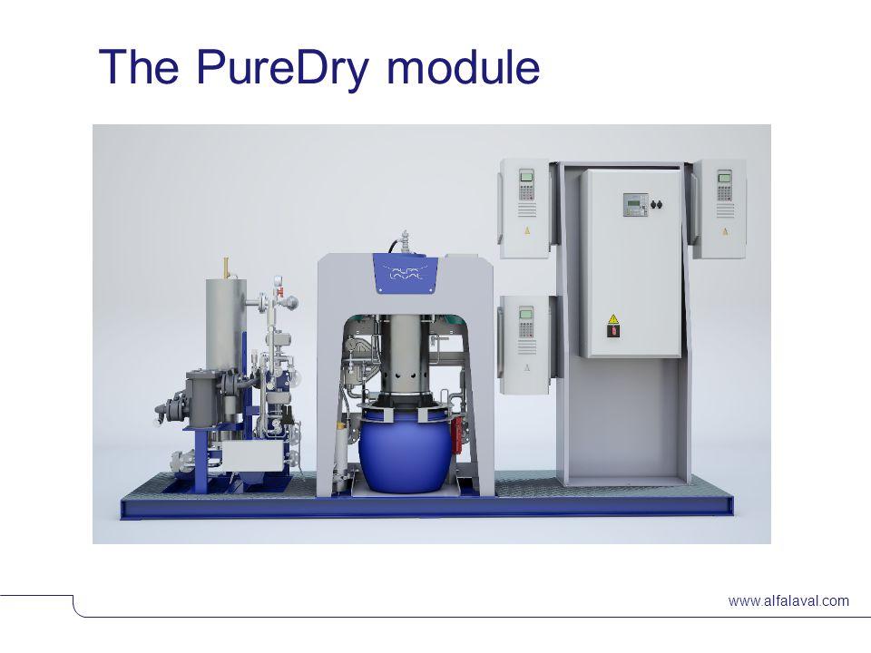 www.alfalaval.com The PureDry module © Alfa LavalSlide 23
