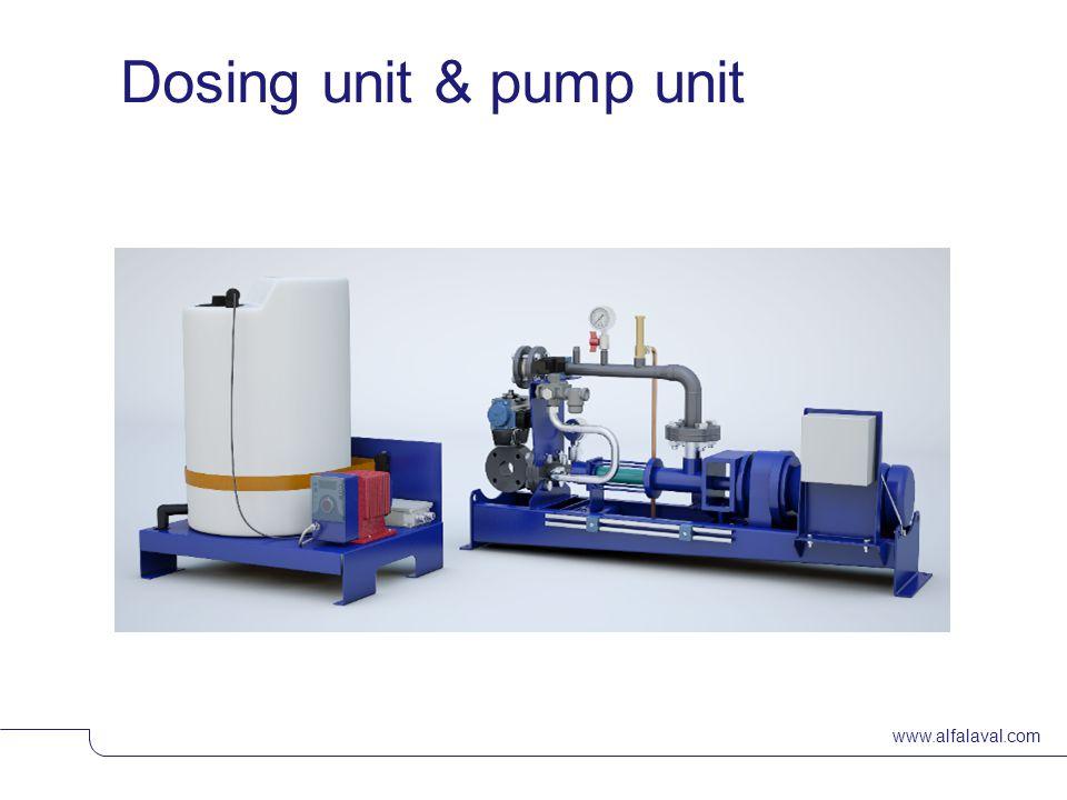 www.alfalaval.com © Alfa LavalSlide 24 Dosing unit & pump unit