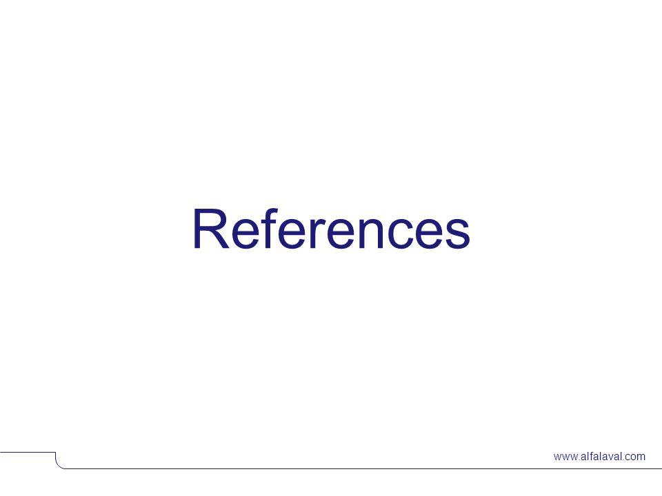 www.alfalaval.com References © Alfa LavalSlide 25