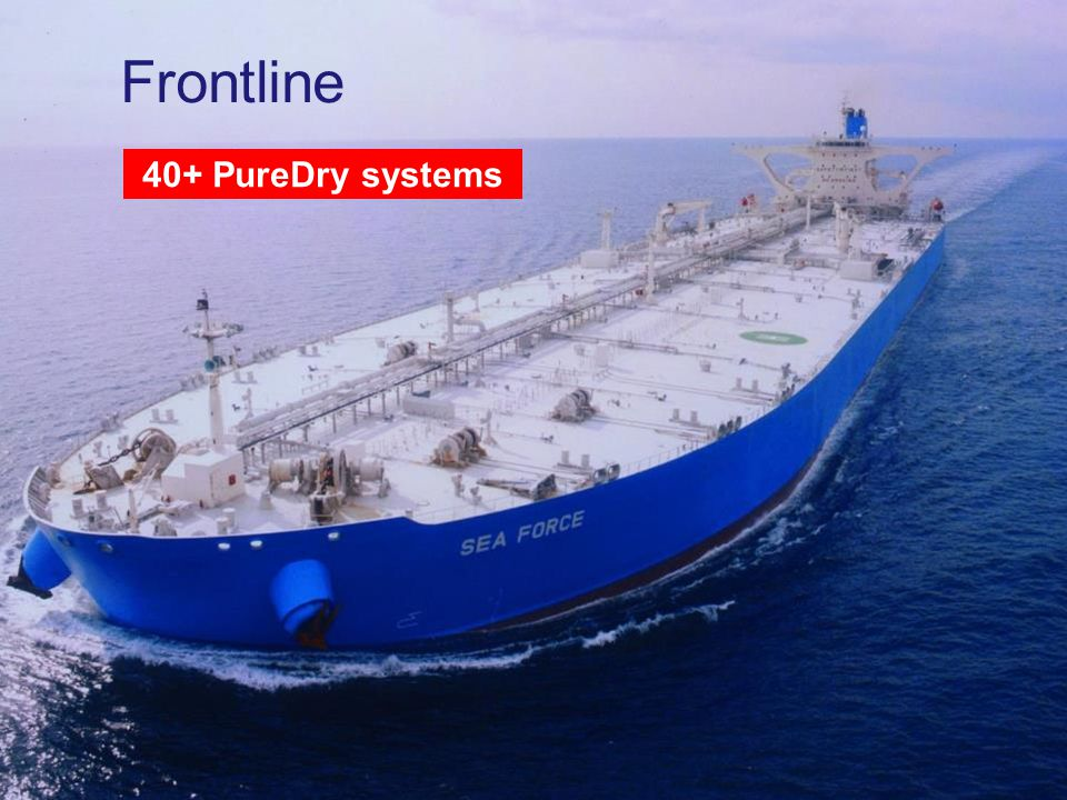 www.alfalaval.com Frontline 40+ PureDry systems