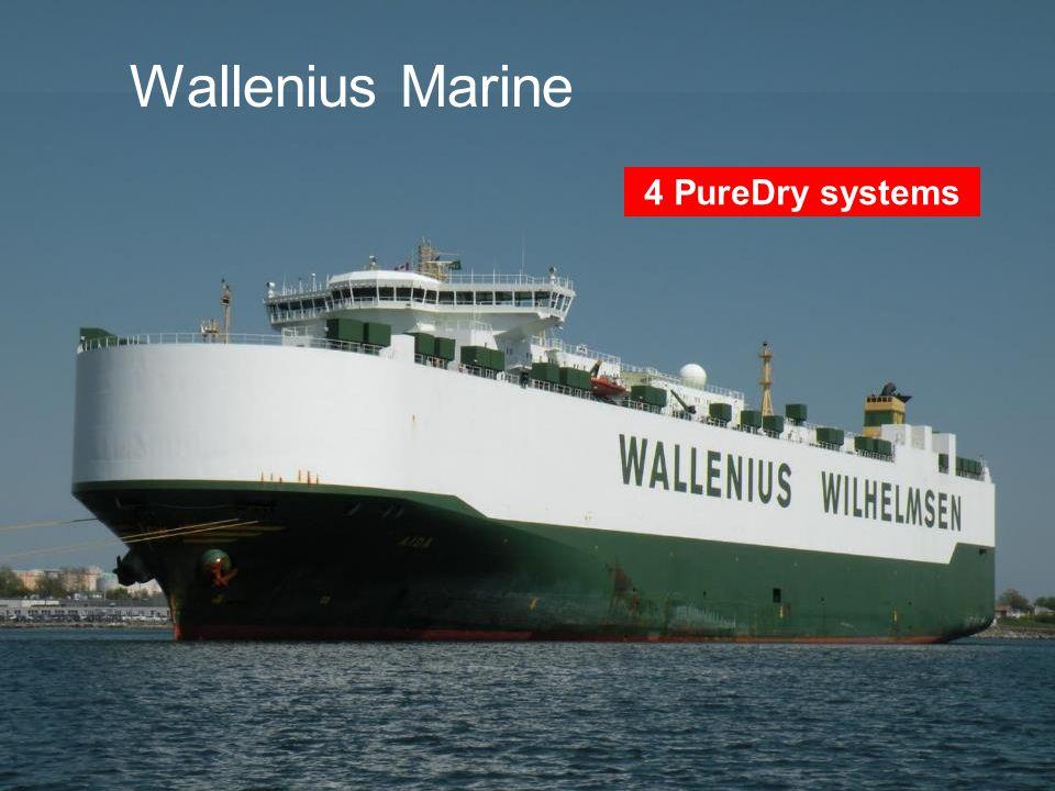 www.alfalaval.com © Alfa LavalSlide 28 Wallenius Marine 4 PureDry systems