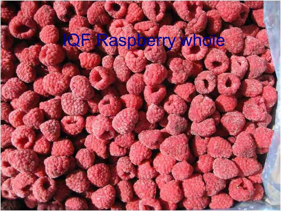 IQF Raspberry whole