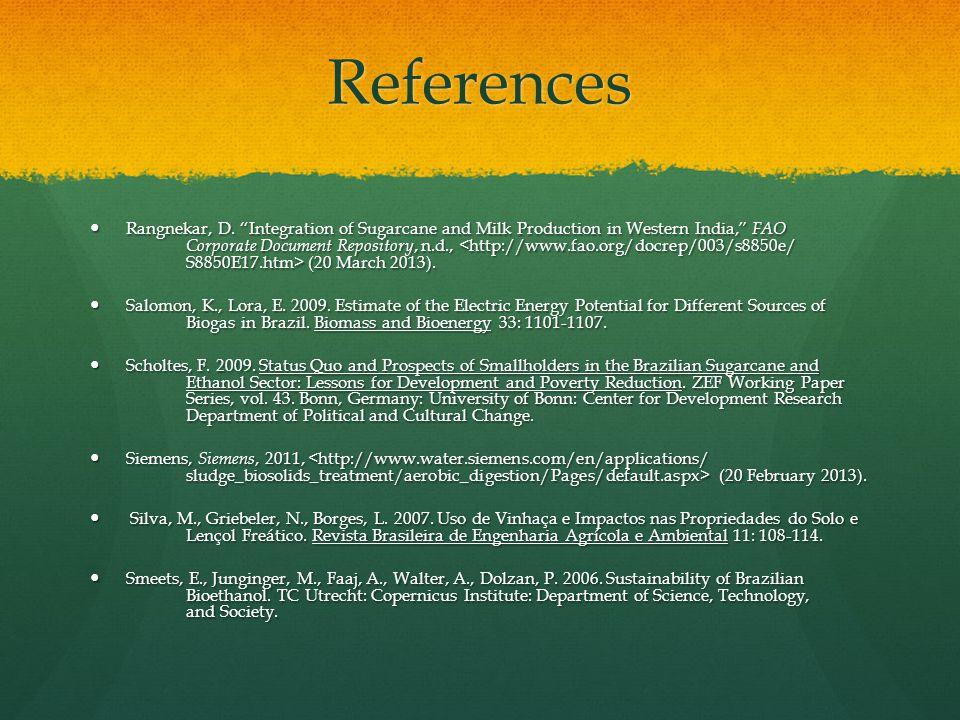 References Rangnekar, D.