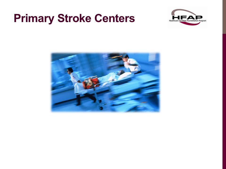 Primary Stroke Centers
