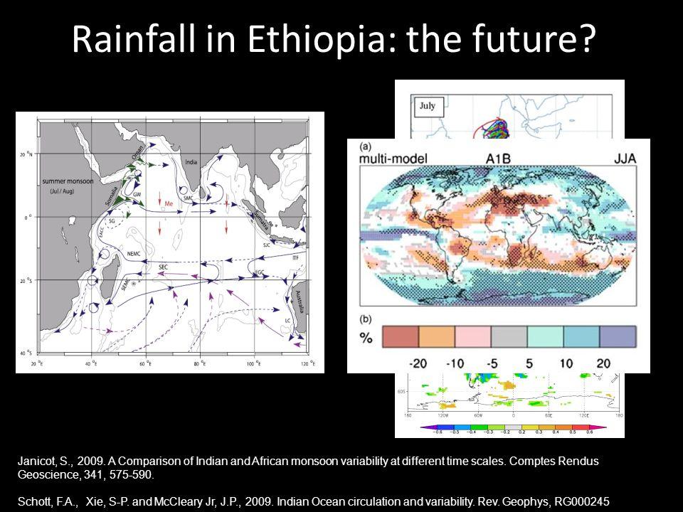 Rainfall in Ethiopia: the future.
