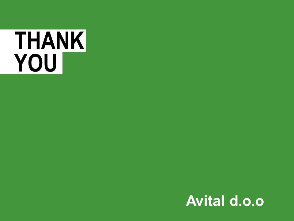 THANK YOU Avital d.o.o