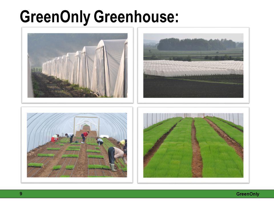 GreenOnly 9 GreenOnly Greenhouse: