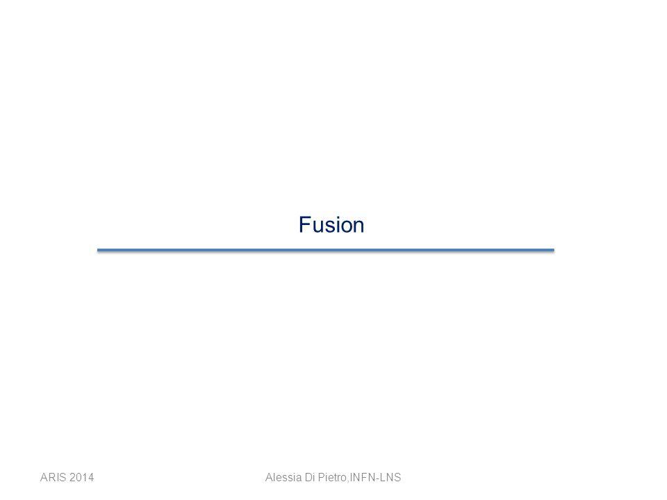 ARIS 2014Alessia Di Pietro,INFN-LNS Fusion