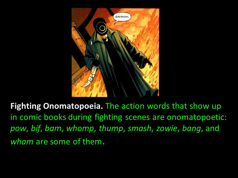 Fighting Onomatopoeia.