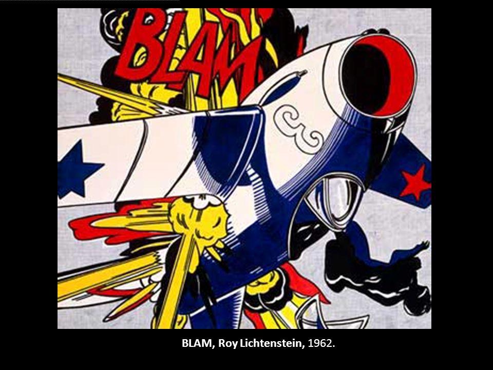 BLAM, Roy Lichtenstein, 1962.