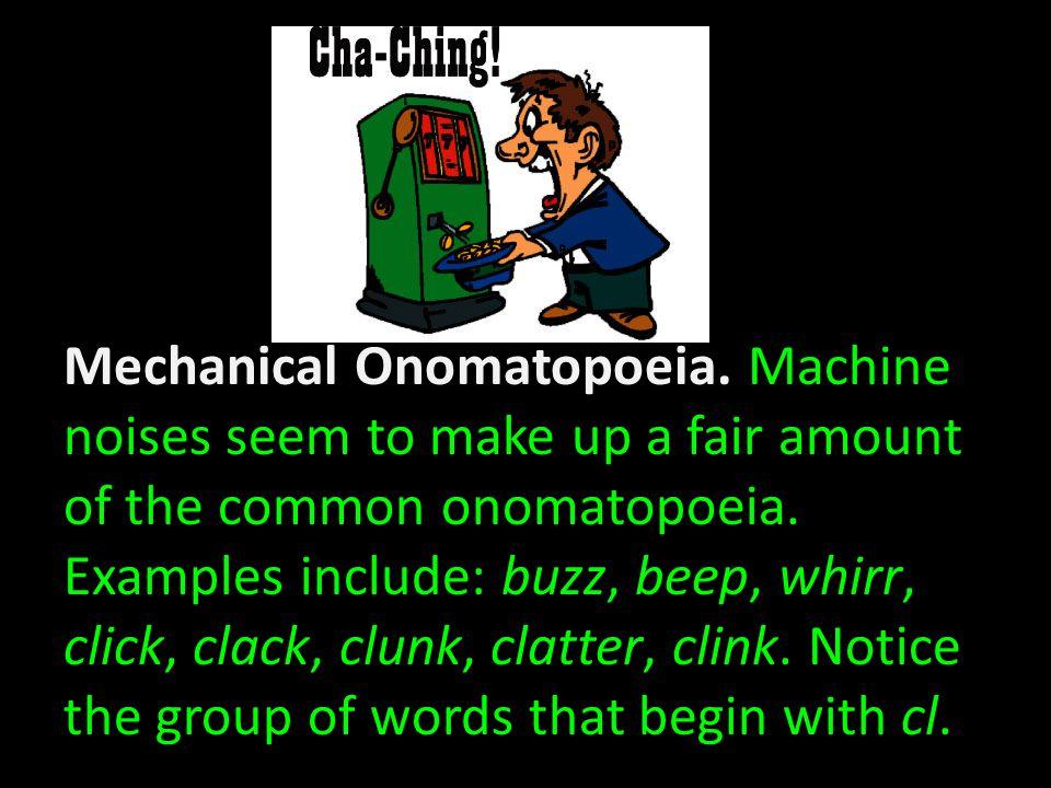 Fast Motion Onomatopoeia.