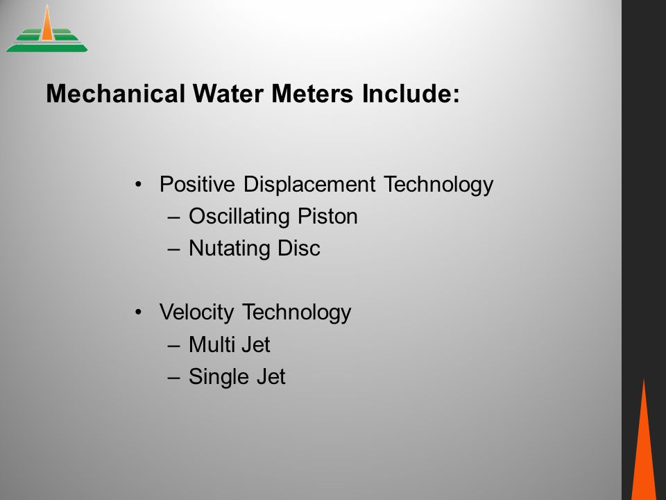 Nutating Disc Water Meter Picture from Omega Flow and Level Handbook