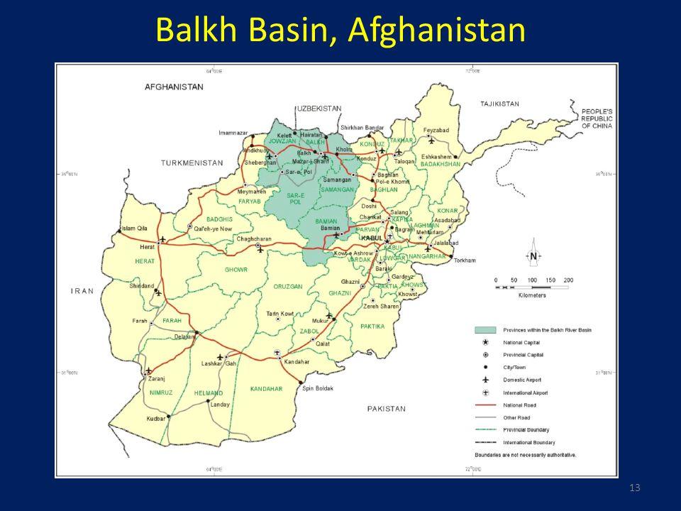 13 Balkh Basin, Afghanistan