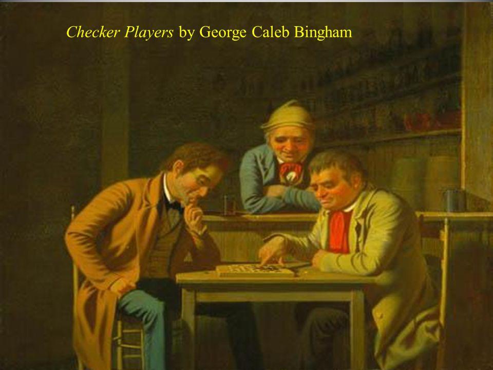Checker Players by George Caleb Bingham