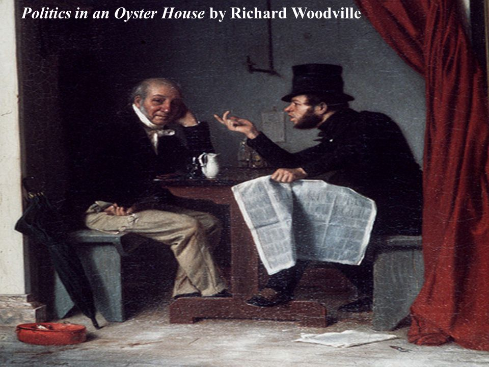 Politics in an Oyster House by Richard Woodville