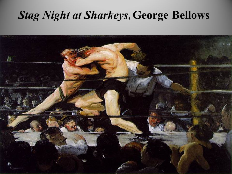 Stag Night at Sharkeys, George Bellows