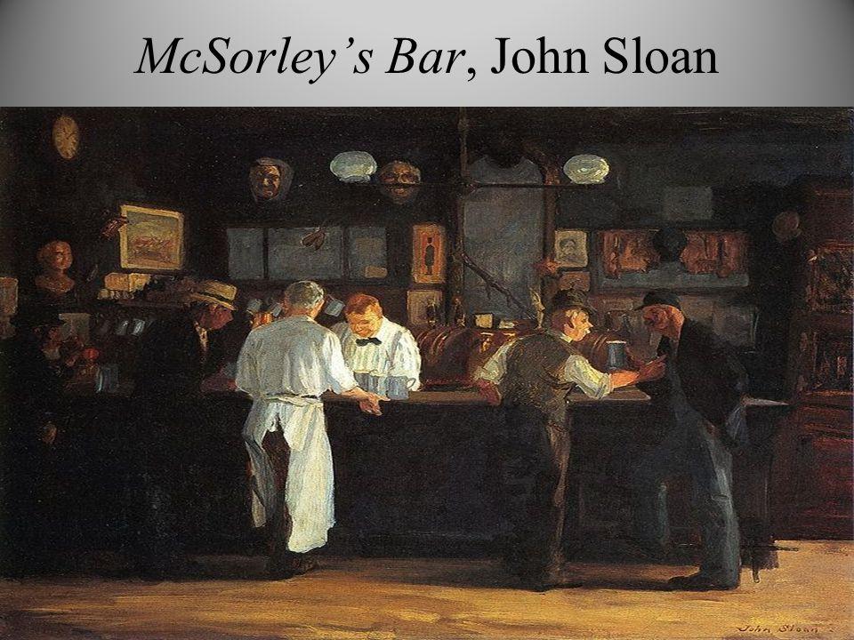 McSorley's Bar, John Sloan