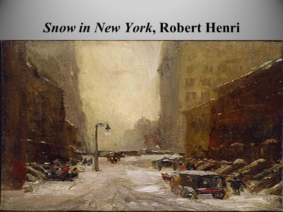 Snow in New York, Robert Henri